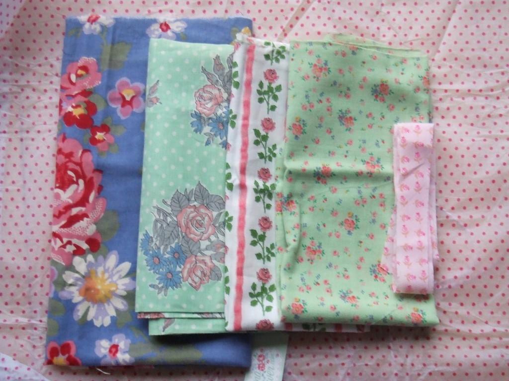 Donna Flower vintage material