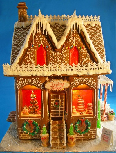 goodies gingerbread house