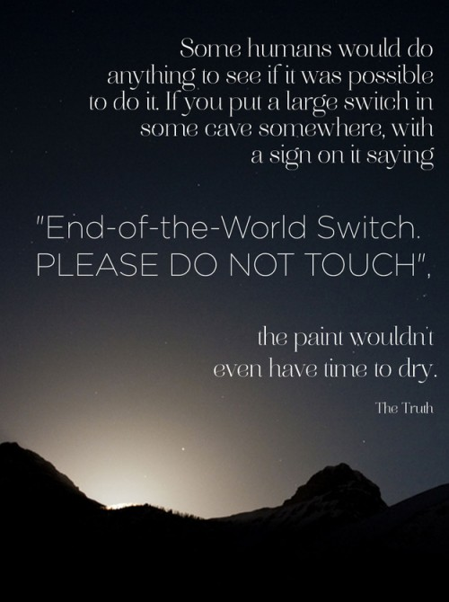 end of world switch