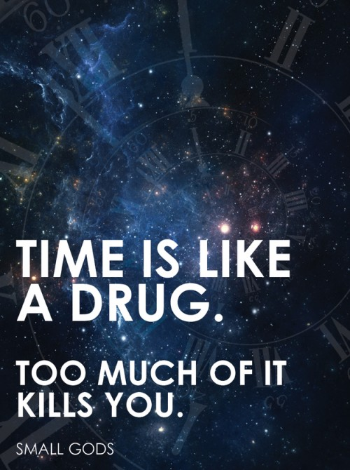 time is a drug poster