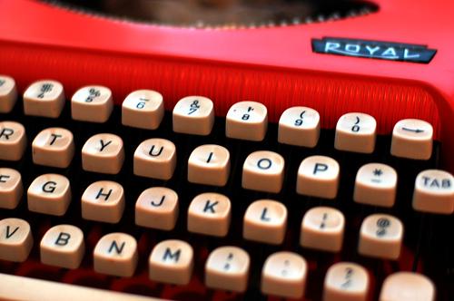 red_typewriter