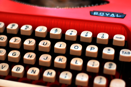 red_typewriter