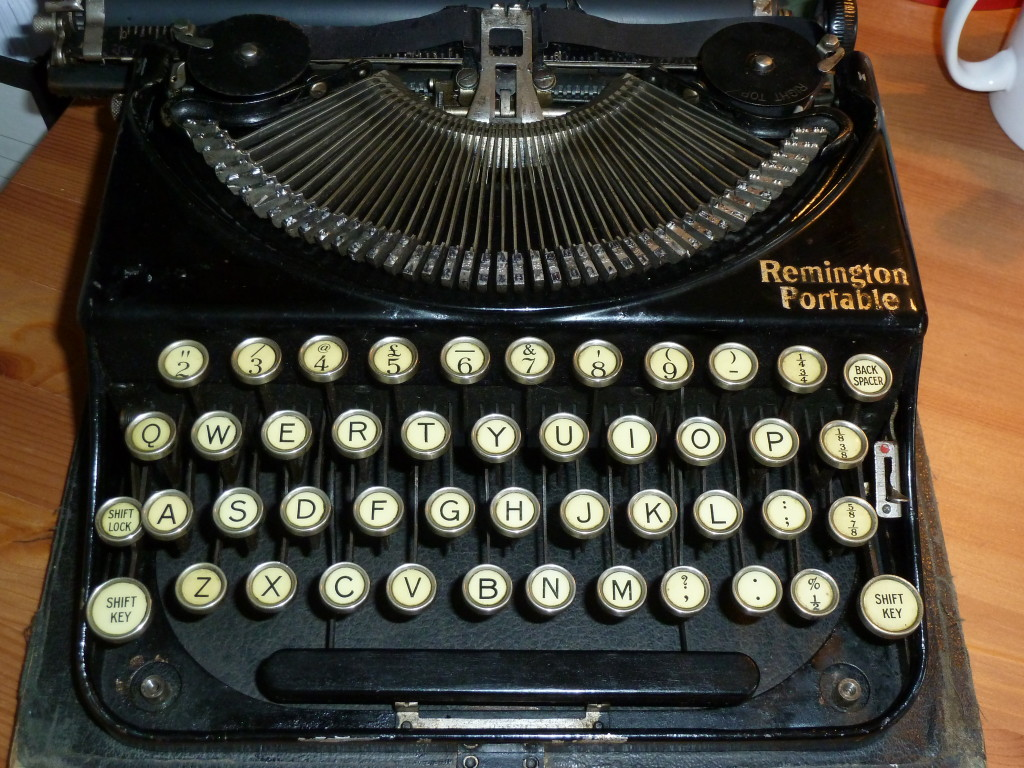 my typewriter