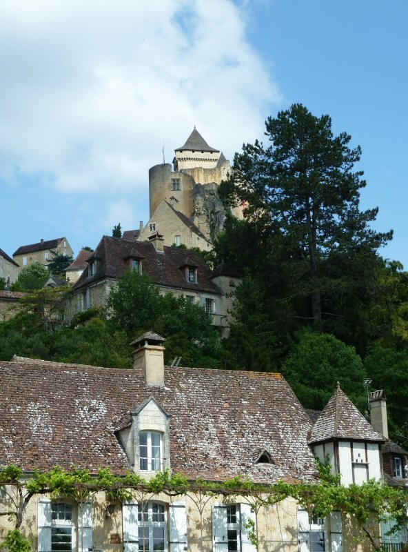 Castelnaud was a big hit with the family, due to its extensive collection of medieval weapons.