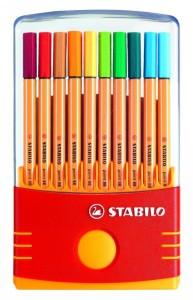 Stabilo fine-liner pens