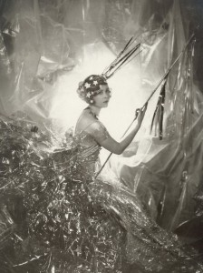 Nancy Beaton as a Shooting Star for the Galaxy Ball, 1929 Photographer: Cecil Beaton. This is an important image in the book and I had a print of it sitting on my desk while I wrote.