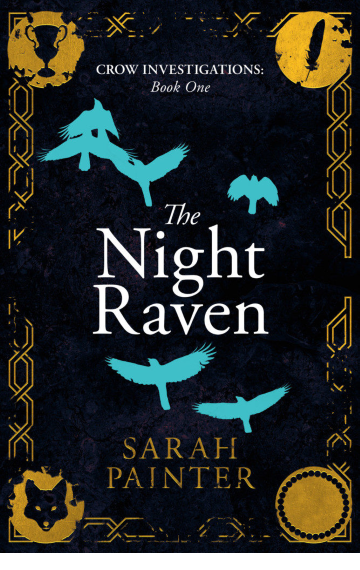 The Night Raven by Sarah Painter book cover image